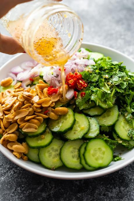 Crunchy Asian Cucumber Salad
