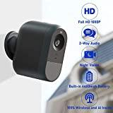 Image: LOYLOV Wireless Home Security Camera, WiFi IP Camera System with 6000 mAh Rechargeable Battery, Cloud Storage Included, 140° View, Night Vision, HD Video, 2-Way Audio, Wall Mount, Indoor/Outdoor Use