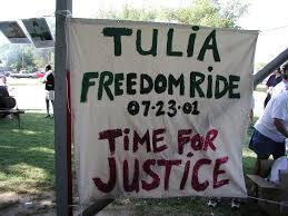 Marching in the face of fear: Tulia's Never again rally remembered