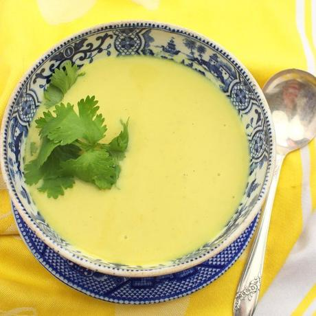Ham and Sweet Corn Soup #SoupSwappers