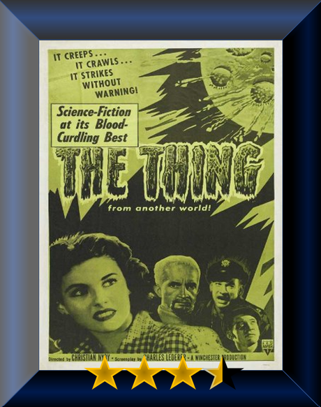 ABC Film Challenge – Sci-Fi – T – The Thing from Another World (1951) Movie Review
