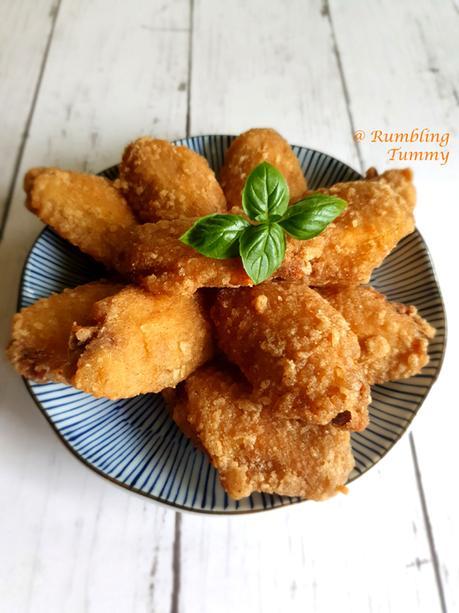 Salt and pepper chicken wings 椒盐鸡翅