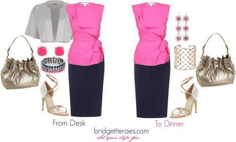 From Desk to Dinner- Accessory Change