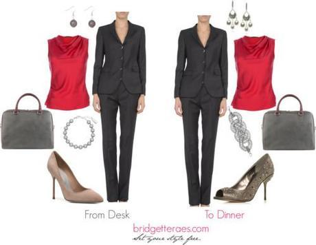 From Desk to Dinner- Suit