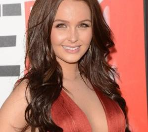 Camilla Luddington at season 5 premiere of True Blood