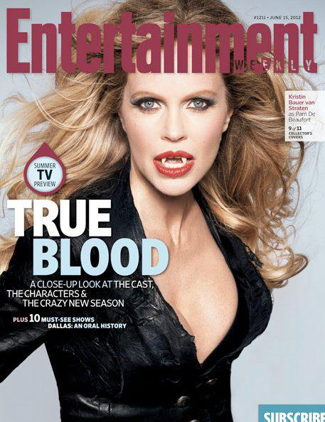 Kristin Bauer Entertainment Weekly 'True Blood' Cover, New HBO Show Still and Video