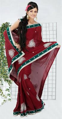 Natasha Couture Exclusive Hand Work Saree Collection 2012