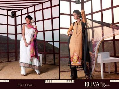 Reeva Designer Lawn Collection 2012 By Shariq Textiles