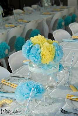 Lemon And Blue Baby Shower By Your Unique Party Paperblog