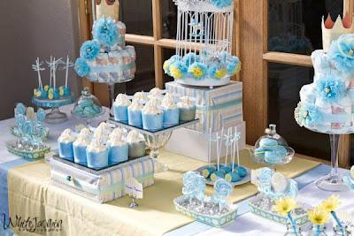 afternoon shower the little prince baby shower in blue pinterest
