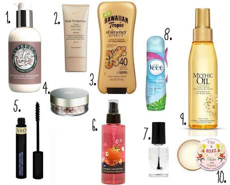 Ten Summer Essentials