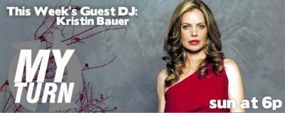 """Kristin Bauer van Straten To Guest DJ on """"My Turn"""""""