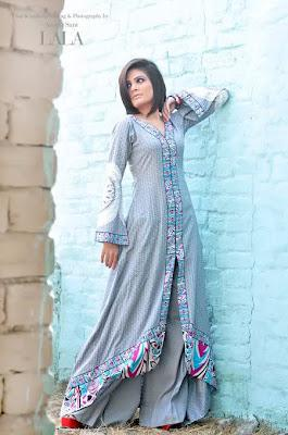 Stylish Eid Dresses Collection 2012 For Girls