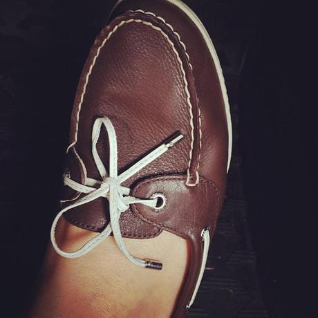 Wilder Style + Musings: My Sweet New Boat Shoes (or) Walk A Little Taller