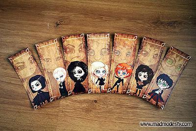 Book Accessories: Harry Potter Bookmarks!