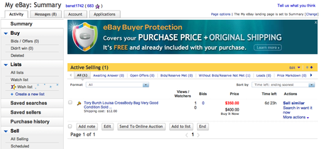 How to Sell an item on Ebay mn minnesota stylist personal shopper the laws of fashion tutorial