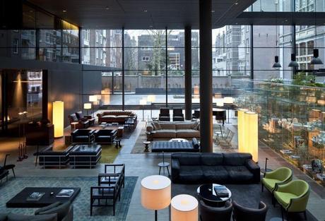 Design Piero Lissoni.Conservatorium Hotel Amsterdam By Italian Designer Piero