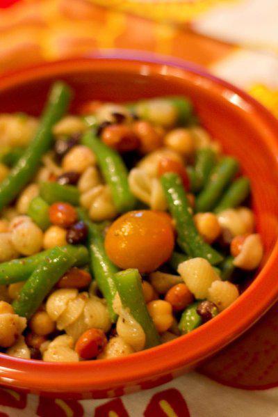 Bean and Pasta Salad