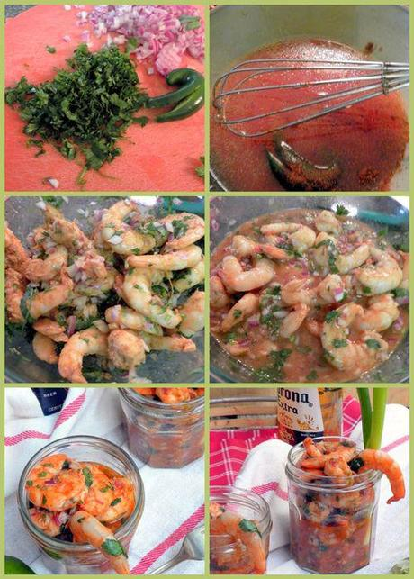 Southwestern Chipotle Shrimp Cocktails - collage2