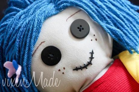 Coraline Rag Doll