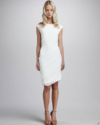 alice olivia lexie drape skirt dress looks like heaven paperblog. Black Bedroom Furniture Sets. Home Design Ideas
