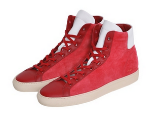 60392e294382de New Memories of Red  Common Projects Vintage High Sneaker - Paperblog