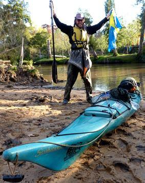 Swedish Explorer Completes South American Kayak Expedition