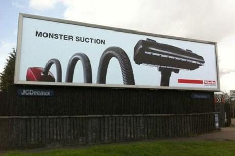 Monster Vacuum Ad Doesn't Suck