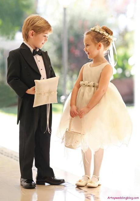 Wedding Page Boy and Flower Girl
