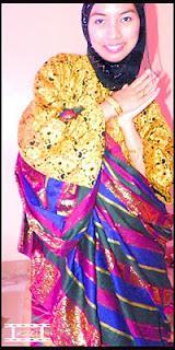 kai darul wearing tausug attire sablay