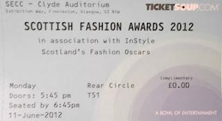 Outfit of the Day: Scottish Fashion Awards