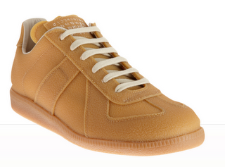 Dry and Dashing:  Maison Martin Margiela Line 22 Low Top Rubber Sneaker