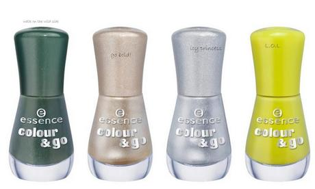 Upcoming Collections:Nail Polish Collections: Essence: Essence Colour & Go Nail Polish