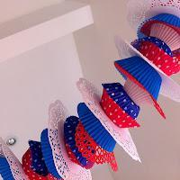 Patriotic Garlands