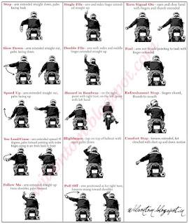 Etiquette and Rules for a Motorcycle Ride