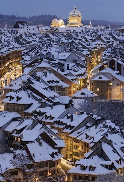 Swiss winter wonderland