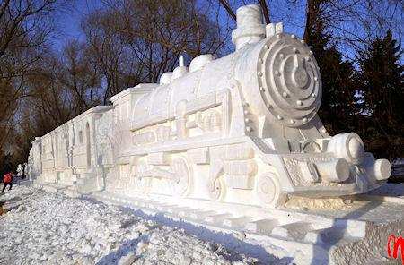 14 Spectacular Designs Created In Snow