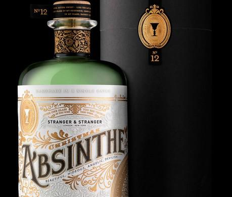 Limited Edition Custom Design Absinthe Bottle