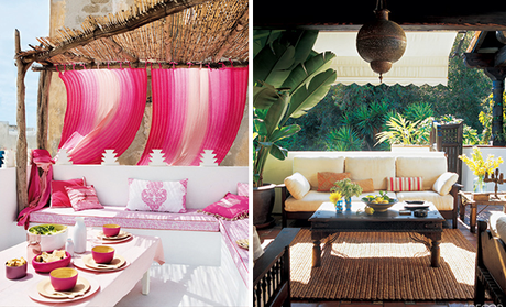 [Guest Post] lust luxe love // Outdoor Spaces