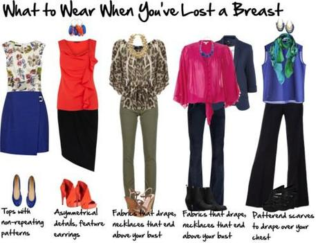 what to wear when you've lost a breast
