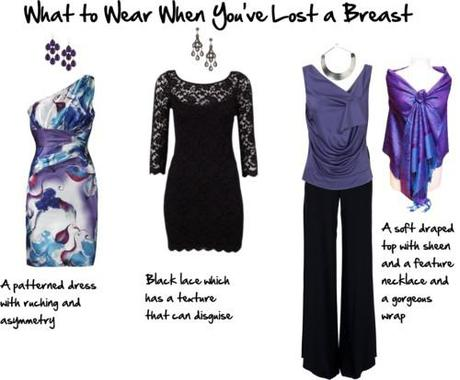 what to wear when you've lost a breast - evening