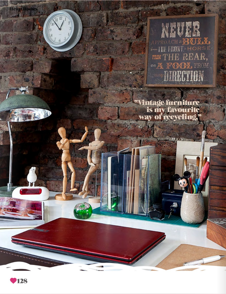 A home full of vintage treasures