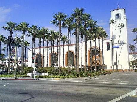 travel to learn english: Los Angeles Union Station