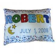 Baby Pillow - Birth Announcement