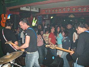 College bar band