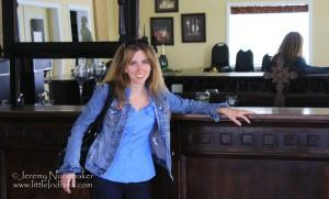 Jessica Nunemaker at Whyte Horse Winery: Monticello, Indiana