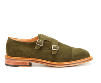 Going Ape Over The Monkstrap:  Mark McNairy Suede Double Monkstrap