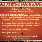 Hiking the Appalachian (and other) Trails