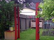 Recycled Wood Arbour