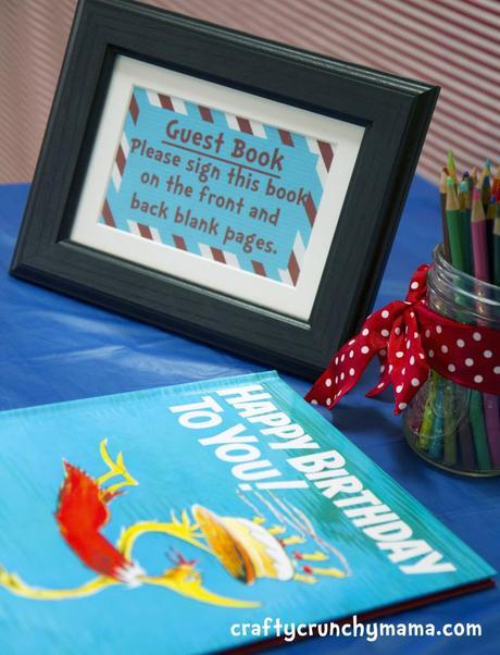 Dr. Seuss First Birthday!